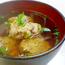 青魚で作る「つみれ汁」レシピ