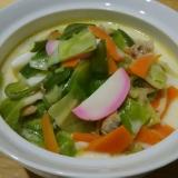野菜たっぷりチャンポン