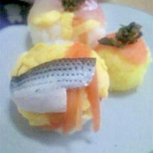 パクパクつまめる!手まり寿司