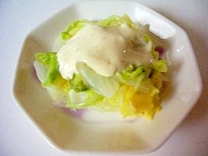 白菜の、わさびマヨネーズ(全工程写真あり)