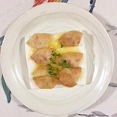 はんぺんのラ・フランス、チーズ焼き