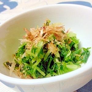 簡単、水菜の漬物