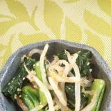 簡単!もやしと小松菜のナムル