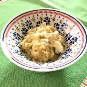 朝食に☆おつまみにも☆簡単☆ポテサラ☆海苔佃煮味