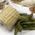 枝豆の塩茹で♬