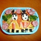 ひな祭り弁当!