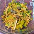 南瓜と人参のサラダ