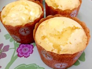 レモンシロップで☆レモンとクリームチーズのマフィン