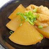 活力なべ☆圧力鍋で大根と油揚げの煮物
