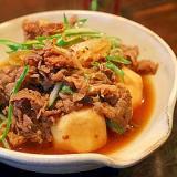 牛肉と里芋の煮つけ