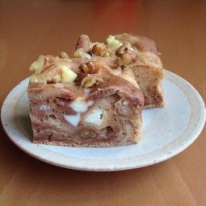 豆腐入り♪くるみとクリチのシナモンケーキ