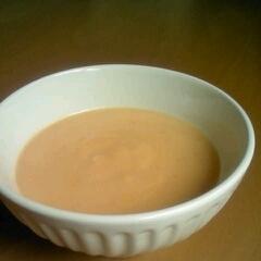 トマトの豆乳ポタージュスープ♪