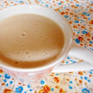 シナモンバナナ豆乳ミルクティー