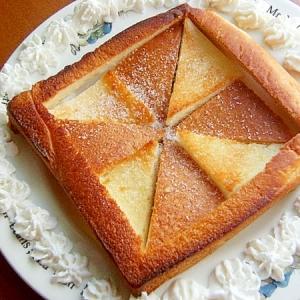 オランダ風車!?パンの耳で可愛いシュガートースト♪