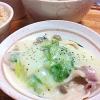 塩麹*白菜の豆乳クリーム煮