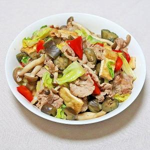 豚肉と彩り野菜炒め★減塩・低カリウム志向