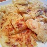 パンケーキミックスdeキャベツとツナの生塩糀お焼き