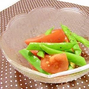 ◆トマトといんげんのサラダ◆