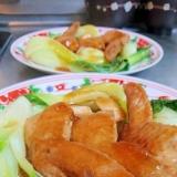 鶏手羽先の中華風煮込み