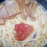 トマトのヘルシー塩ラーメン
