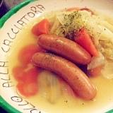 簡単!野菜たっぷり☆シャウエッセンでポトフ