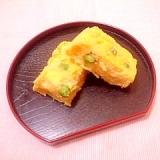 卵1/2個♪豆入り米粉とおからのケークサレ
