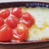 ミニトマトのチーズフォンデュ
