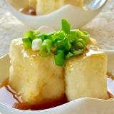 甘めのあんで♫揚げ出し豆腐
