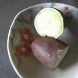 ☆レンジで簡単焼き芋☆