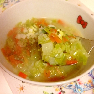 キャベツの食べるスープ★ダイエットに