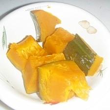 かぼちゃの塩バター煮
