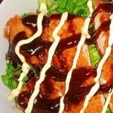 鶏のささみソースカツ丼