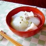 大根と塩豚のスープ