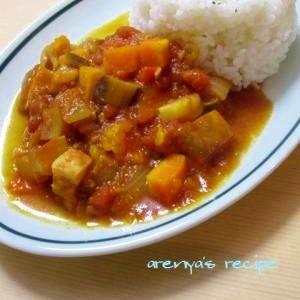 野菜たっぷり♪カレー風味のラタトゥユライス