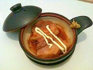 辛子マヨの煮豚(クック膳)。
