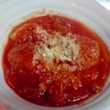簡単でおいしいトマト煮込みハンバーグ♪