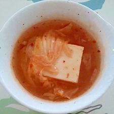 中華風ピリ辛湯豆腐++