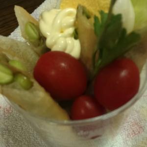 ※枝豆のスティク春巻き