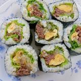韓国風太巻き(キンパ)