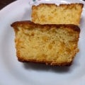 HM使用で簡単♪柚子ジャムのしっとりパウンドケーキ
