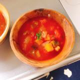 夏野菜のミネストローネスープ