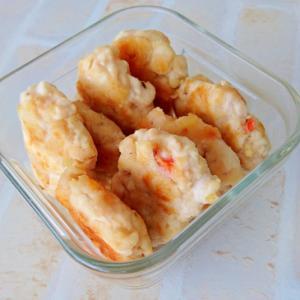 コストコさくら鶏で作ったチキンナゲット
