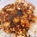 辛口麻婆豆腐丼