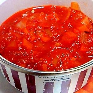 ワインビネガーで♪ ひとあじ美味しいトマトソース