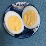 昆布茶で♪味付け卵