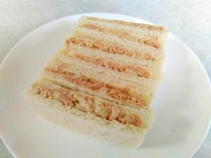 朝食に☆ツナサンド
