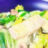 鮭と野菜のさっぱりマヨネーズソース