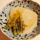 圧力鍋でトロトロ♪ 高野豆腐の粉末だしで大根の煮