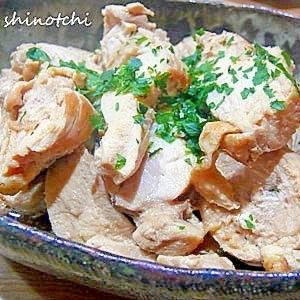鶏肉のコンソメ煮
