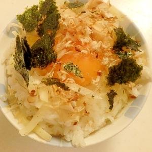 和風チーズ卵かけご飯